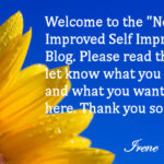 "Welcome to my ""New Improved"" Blog"