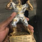 Pregnant Mom Gives Trophy To First Man To Offer Her His Subway Seat