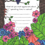 Nature Coloring Page from Tiny Buddha's Gratitude Journal