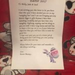 This 'Easter Bunny' Left Kids A Note About Their Bad Behavior Instead Of An Easter Basket