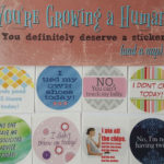 Here Are Stickers For Pregnant Women, Because Growing A Human Deserves A Reward