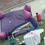 Neighbor Pulls Plug On Bouncy Castle Trapping Toddlers Inside