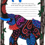 Your Favorite Animal Coloring Page from Tiny Buddha's Gratitude Journal