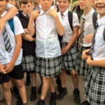Boys Wear Skirts To Protest School's 'No Shorts' Dress Code Policy