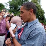 Photo Of Barack Obama Holding Starstruck Baby Warms All Our Hearts