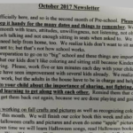 What Would You Think If You Received This Preschool's (Absurd) Newsletter?